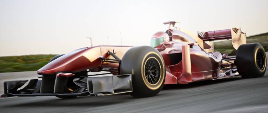 A Formula One race car