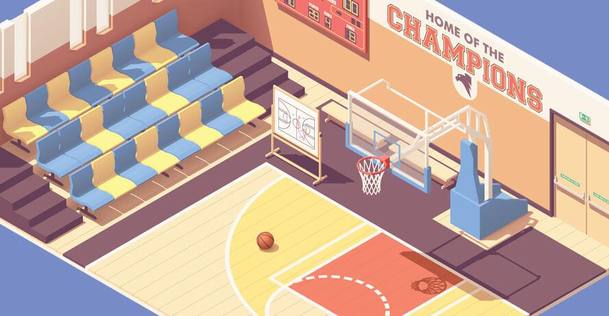 NBA Finals Game Five: LA Lakers vs Miami Heat Boston Celtics vs Miami Heat nba basketball header image from shutterstock