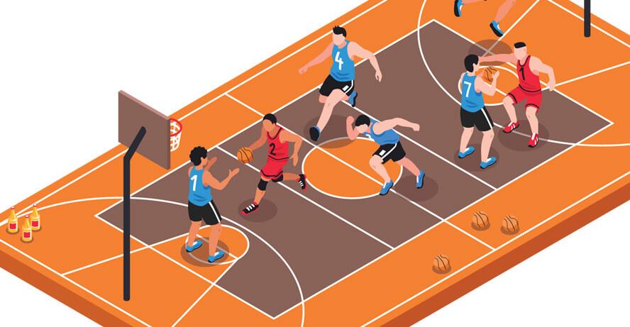 nba basketball header image from shutterstock