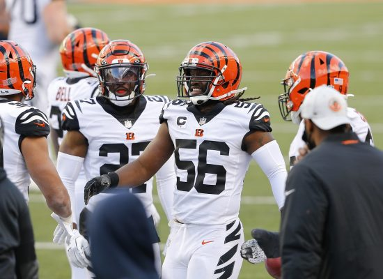 Nfl: Tennessee Titans At Cincinnati Bengals