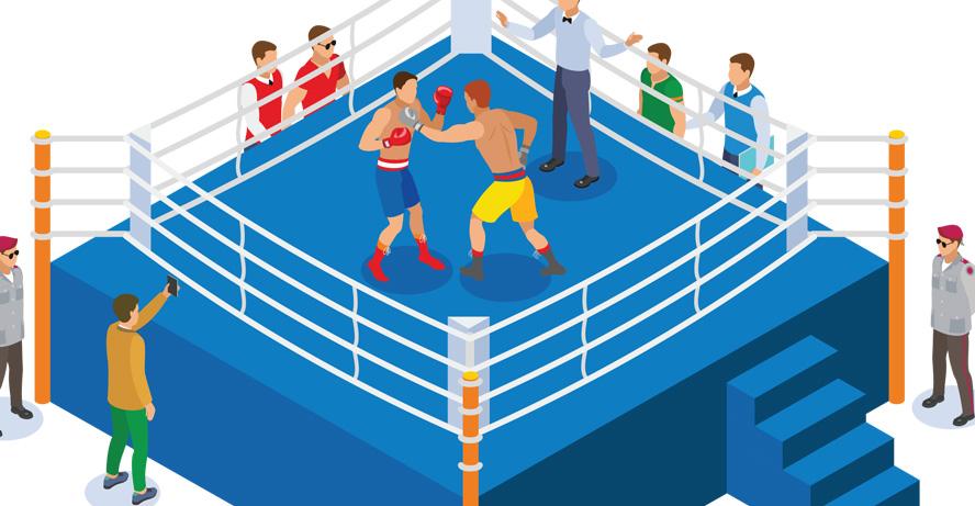 Vasyl Lomachenko vs Teofimo Lopez boxing header image from shutterstock