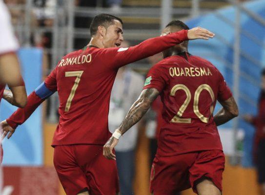 Soccer: World Cup Iran Vs Portugal