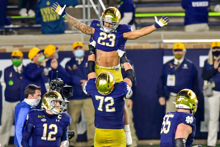 Week 11: Notre Dame at Boston College – Odds & Picks (Sat, 11/14), the 'Holy War'