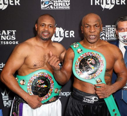 Boxing: Tyson Vs Roy Jones Jr