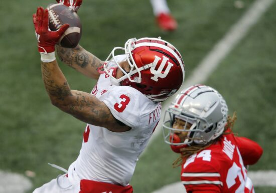 Ncaa Football: Indiana At Ohio State