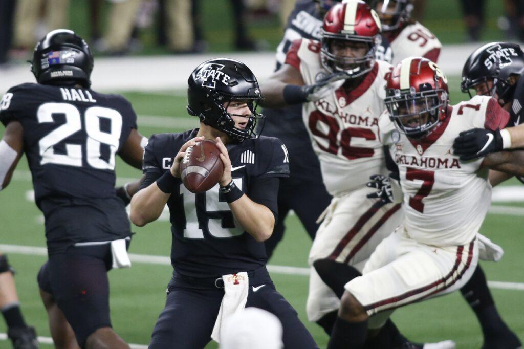 Ncaa Football: Big 12 Championship Oklahoma At Iowa State
