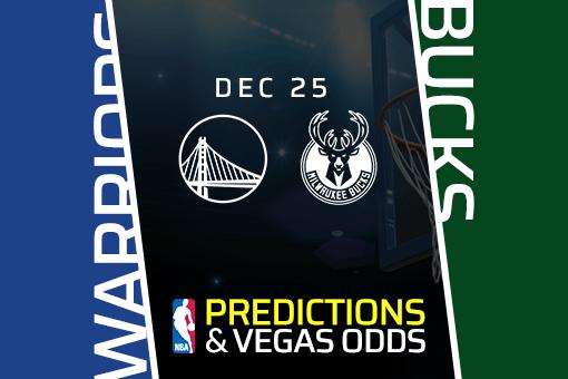 NBA: Warriors vs Bucks Prediction & Vegas Odds (Dec 25)