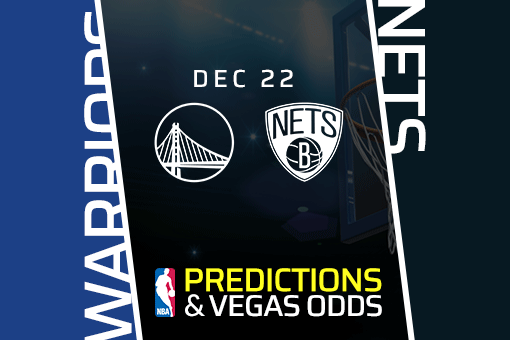 NBA: Warriors vs Nets Prediction & Vegas Odds (Dec 22)