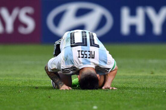 Soccer: World Cup France Vs Argentina