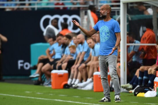 Soccer: International Champions Cup Fc Bayern At Manchester City