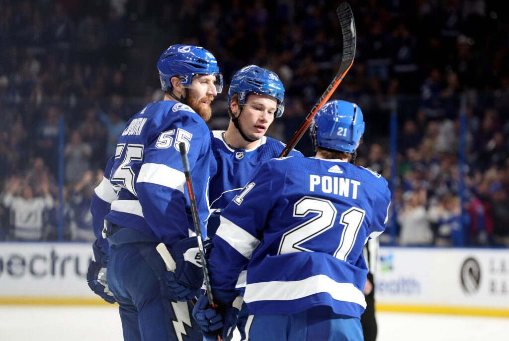 Nhl: Dallas Stars At Tampa Bay Lightning