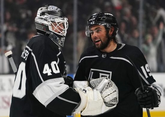 Nhl: Ottawa Senators At Los Angeles Kings