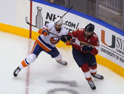 Nhl: Eastern Conference Qualifications New York Islanders At Florida Panthers