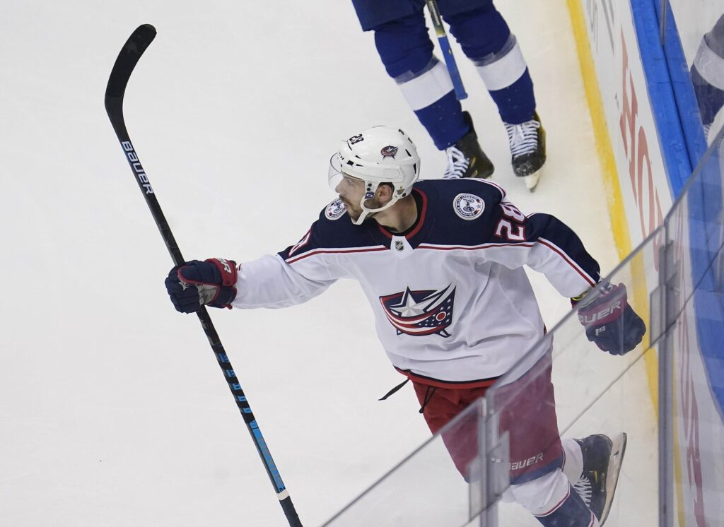 Nhl: Stanley Cup Playoffs Columbus Blue Jackets At Tampa Bay Lightning