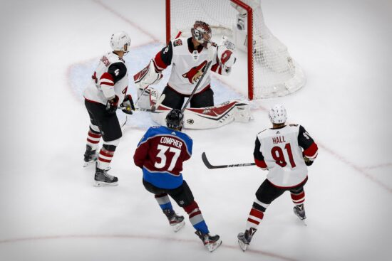 Nhl: Stanley Cup Playoffs Arizona Coyotes At Colorado Avalanche
