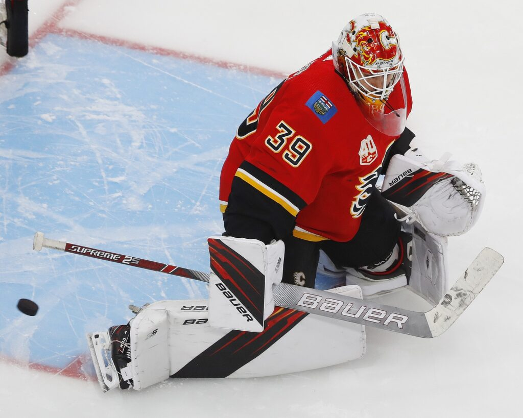 Nhl: Stanley Cup Playoffs Dallas Stars At Calgary Flames
