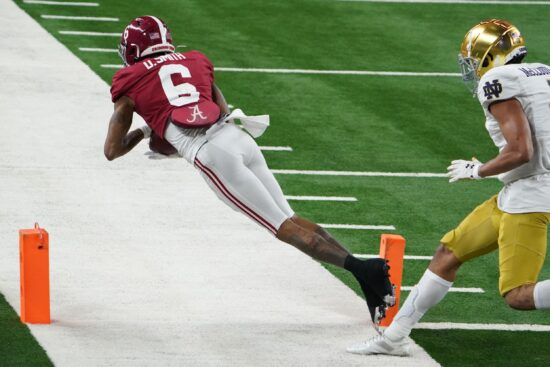 Ncaa Football: Rose Bowl Notre Dame Vs Alabama