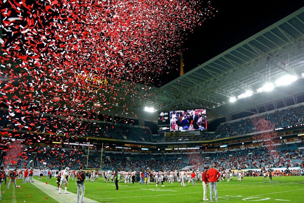 Ncaa Football: Cfp National Championship Ohio State Vs Alabama