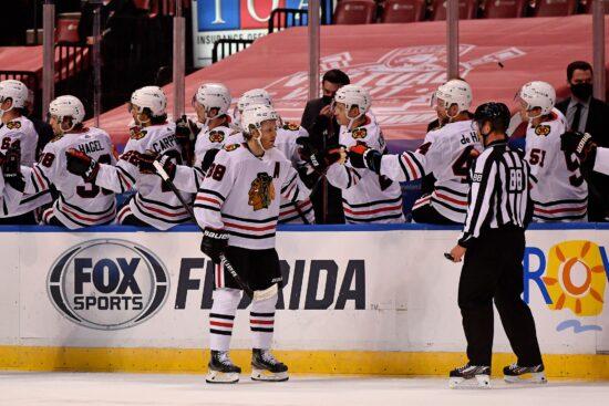 NHL: Red Wings vs Blackhawks Prediction & Lines (Jan 22)