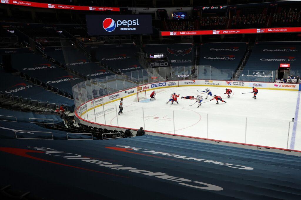 Nhl: Buffalo Sabres At Washington Capitals