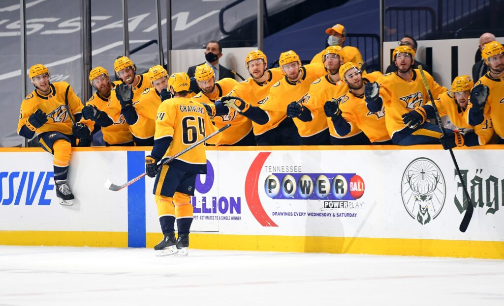Nhl: Chicago Blackhawks At Nashville Predators