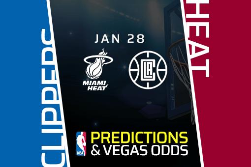 Free NBA Pick: Clippers vs Heat Prediction & Vegas Odds (28 Jan)