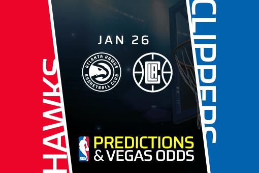 Free NBA Pick: Clippers vs Hawks Prediction & Vegas Odds (Jan 26)