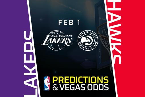 Free NBA Pick: Lakers vs Hawks Prediction & Vegas Odds (Feb 1)