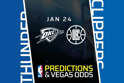 Free NBA Pick: Thunder vs Clippers Prediction & Vegas Odds (Jan 24)