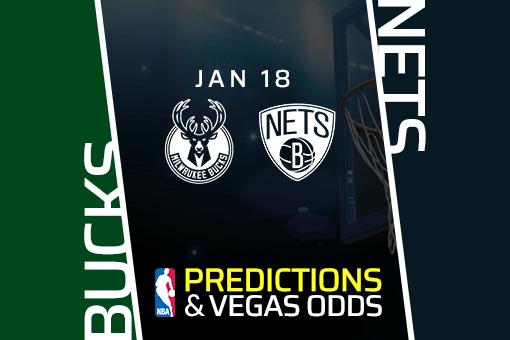 NBA: Bucks at Nets Prediction & Odds (Jan 18)