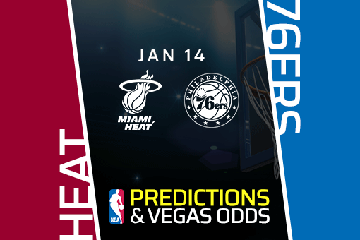 NBA: Heat at 76ers Game Prediction & Odds (Jan 14)