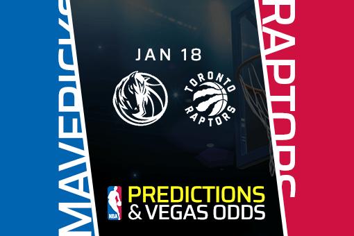 NBA: Mavericks at Raptors Prediction & Odds (Jan 18)
