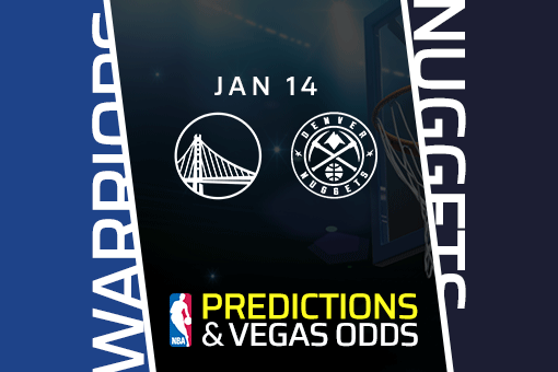 NBA: Warriors at Nuggets Game Prediction & Odds (Jan 14)