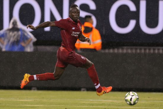 Soccer: International Champions Cup Manchester City At Liverpool Fc