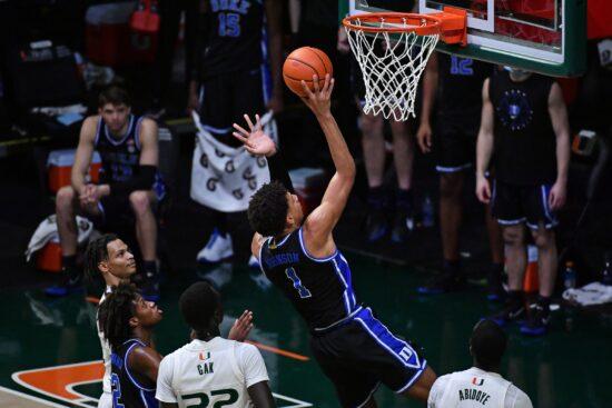 Ncaa Basketball: Duke At Miami Florida