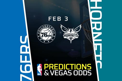 Free NBA Pick: 76ers vs Hornets Prediction & Vegas Odds (Jan 3)