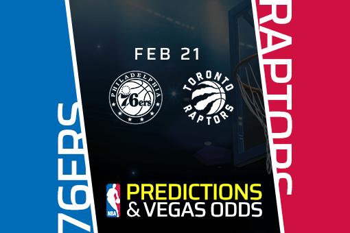 Free NBA Pick: 76ers vs Raptors Prediction & Vegas Odds (Feb 21)