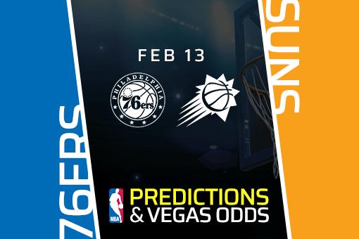 Free NBA Pick: 76ers vs Suns Prediction & Vegas Odds (Feb 13)