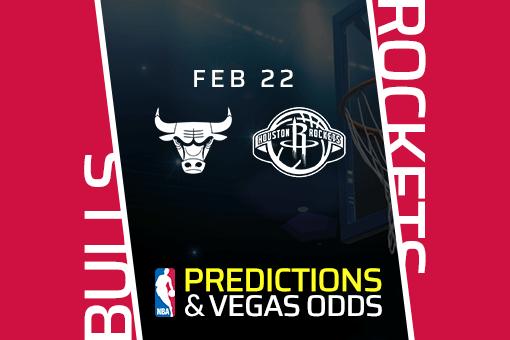 Free NBA Pick: Bulls vs Rockets Prediction & Vegas Odds (Feb 22)