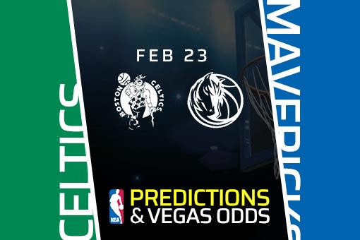 Free NBA Pick: Celtics vs Mavericks Prediction & Vegas Odds (Feb 23)