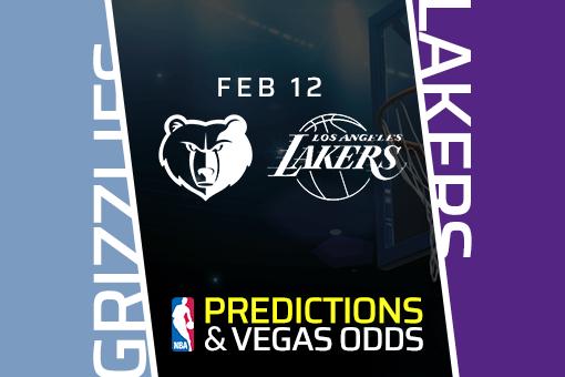 Free NBA Pick: Grizzlies vs Lakers Prediction & Vegas Odds (Feb 12)