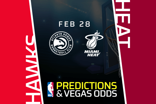 Free NBA Pick: Hawks vs Heat Prediction & Vegas Odds (Feb 28)
