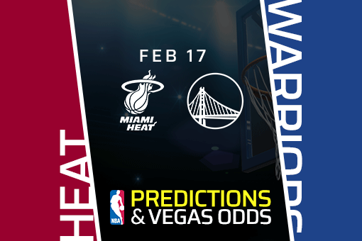 Free NBA Pick: Heat vs Warriors Prediction & Vegas Odds (Feb 17)