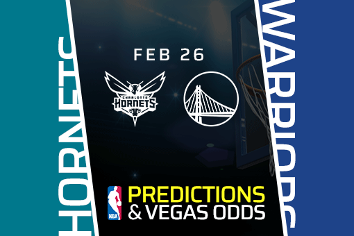 Free NBA Pick: Hornets at Warriors Prediction & Vegas Odds (Feb 26)