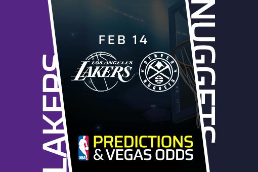Free NBA Pick: Lakers vs Nuggets Prediction & Vegas Odds (Feb 14)