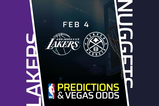 Free NBA Pick: Lakers vs Nuggets Prediction & Vegas Odds (Feb 4)