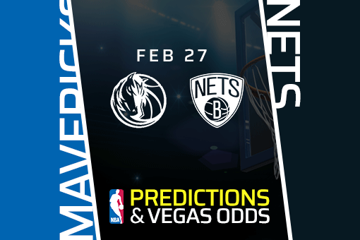 Free NBA Pick: Mavericks at Nets Prediction & Vegas Odds (Feb 27)