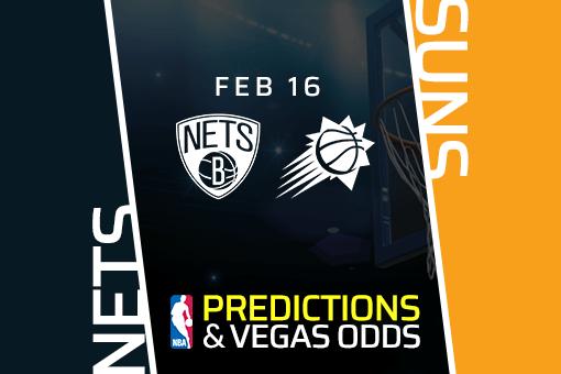 Free NBA Pick: Nets vs Suns Prediction & Vegas Odds (Feb 16)