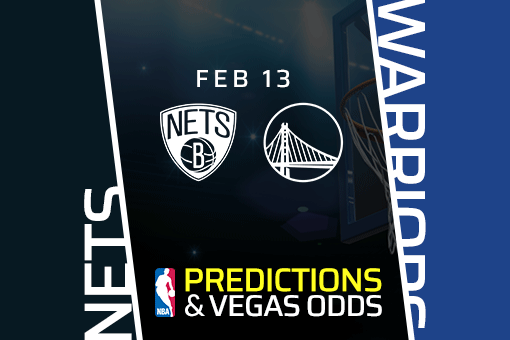 Free NBA Pick: Nets vs Warriors Prediction & Vegas Odds (Feb 13)