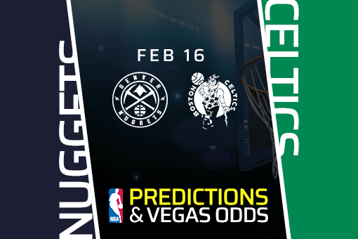 Free NBA Pick: Nuggets vs Celtics Prediction & Vegas Odds (Feb 16)